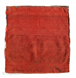 Extremely fine and gorgeous Gharadagh or Shahsavan pile bag, mint condition, silky wool and absolutely gorgeous colors.