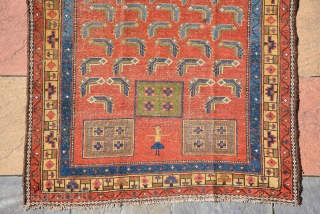 Kurdish rug 19th century