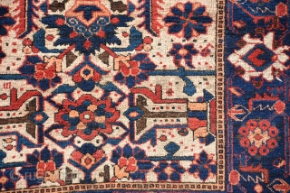 An Outclass Ferdous Baluch Rug Circa 1900, Wool on Cotton
