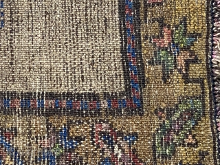 A very Rare Antique Kurdish rug, size is 176 x 100 cm