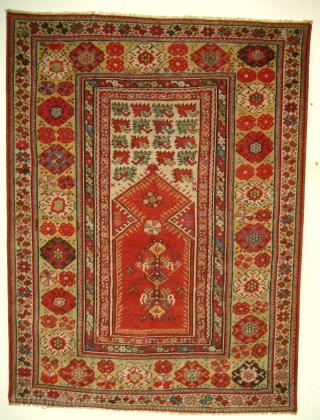 anatolian   melas   carpet    period around 1850 perfect condition
