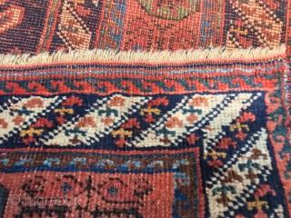 antique afshar South Persia  cm 1.50 x 1.14 19th centruy  1860/80 circa good  condition
