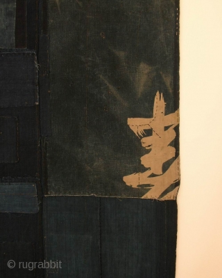 "Boro futon cover, Japan, Taisho (circa 1920), cm 165x102. There is a class of Japanese folk textiles known as boro, which literally translated means ""rags"" or ""ragged."" Broadly speaking, boro textiles are  ..."