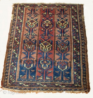 Baluch rug, late 19th - early 20th century, cm 84x69. Among the variety of things within textile art I am unaware of, I know next to nothing about Baluch weavings. I liked  ...