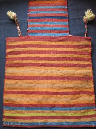 "Shahsavan Salt bag in good condition. size : 22"" X 14.5"" -  56 cm X 37 cm"