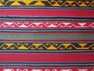 "Caucasus Azerbaijan silk Jajim.. great condition good colors. Size: 51"" X 37"" - 129 cm X 94 cm"