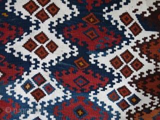 "Eastern Anatolia, kurdish kilim bag face, Circa 1900 size: 36"" X 34"" - 92 cm X 86 cm"