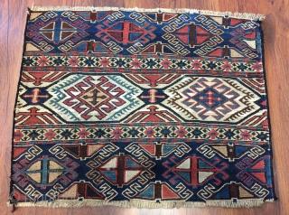 Shahsavan Fragmand panel size 43x55cm