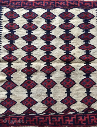 Bahtiyar sofra wool and cotton size 117x94cm