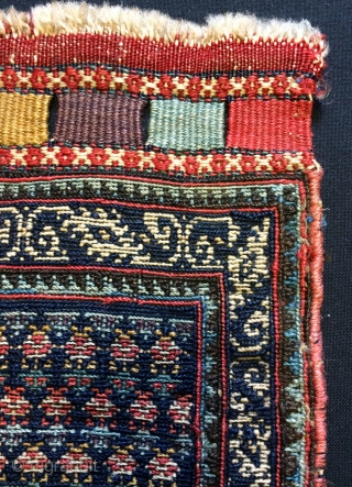 Shahsavan Small bag face 18x17cm