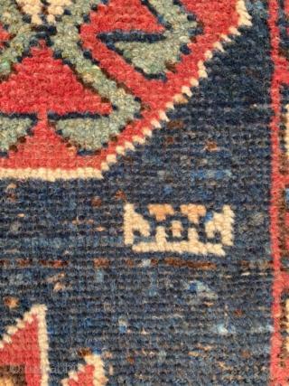 Persian Kurdish Carpet  size 330x106cm