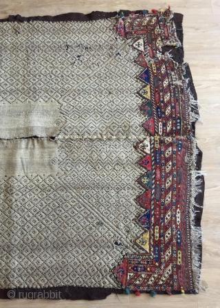 Rare avshar horse cover size 170x150cm