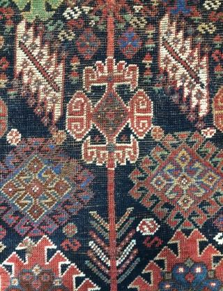 Qhasgia carpet not full pile size 167x125cm