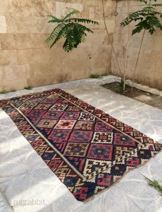 North West Kurdish kilim size 350x176cm