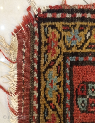 North West Kurdish Carpet size 260x110cm