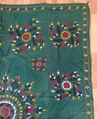 Tajik  Suzani silk. Size 240x190cm