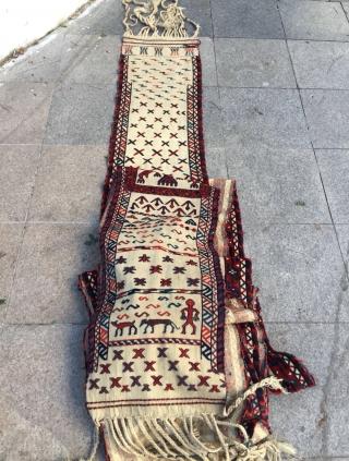 Yamud chadur tentband size 1350x46cm