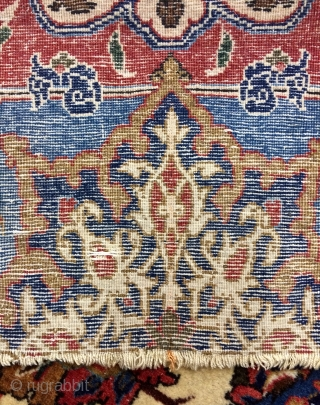 Very nice Esfahan small carpet size 160x108cm