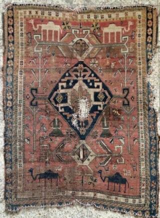 Qhasgai carpet size 160x120cm
