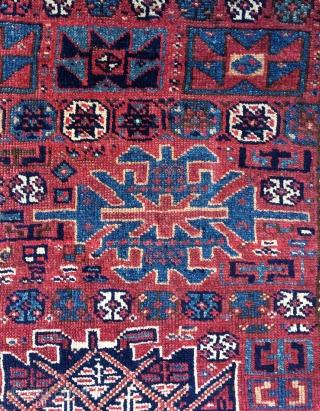 Kurdish carpet fragment size 300x150cmm