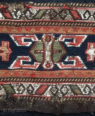Caucasian scissors bag