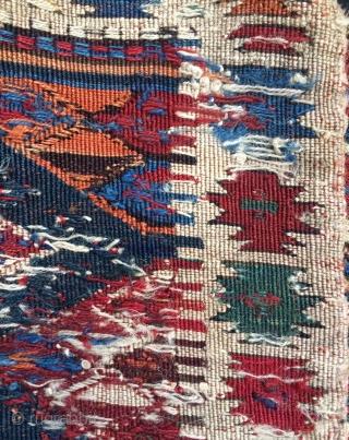 Shahsavan khamamlu panel very nice colors size 42x98cm