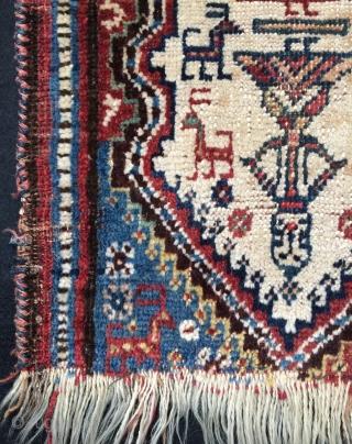 Qhasgai bag face size 36x33cm
