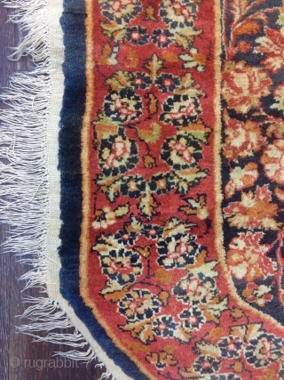 Sivas silk on wool size 145x110cm