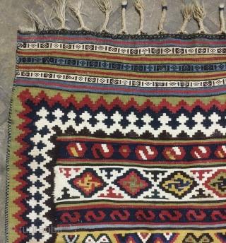 Qhasgai kilim very fine quality size 260x130 cm