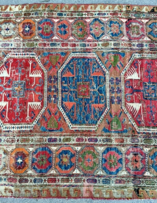 Horassan Sumach all are colors not natural dyes size 350x150cm