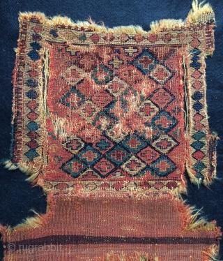 Shahsavan bag. 1800 or 1820s size 32x31cm
