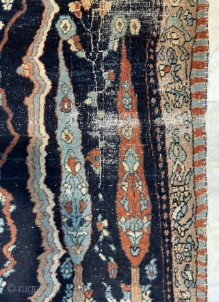very unusual persian carpet size 140x87cm