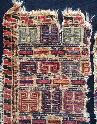 Kurdish original double wing bag face size 46x50cm