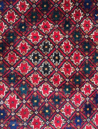 Afshar Carpet all are colors natural dyes and skily wool size 200x155cm