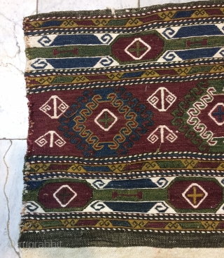 Caucasian Sumach panels red is not naturel dye, size one panel 40x90cm