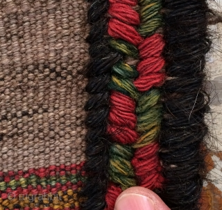 Beluch kilim all are colors natural dyes size 245x145
