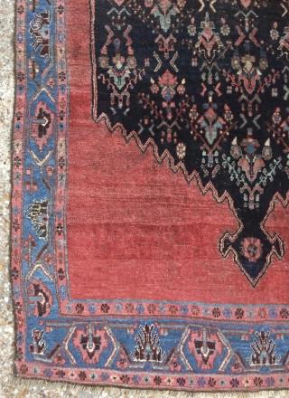Very old Bijar Kurdish carpet size 220x140cm