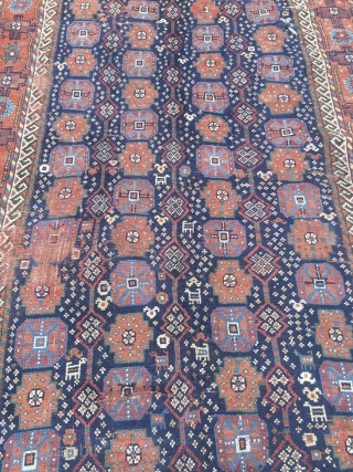 Kurdish carpet khochan size 300x140cm
