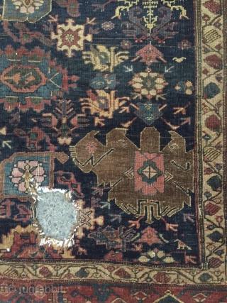 Kurdish bidjar carpet 210x130cm