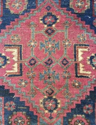 Very different Kurdish carpet size 213x117cm