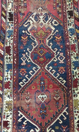 Persia  Kurdish runner carpet size 420x84cm