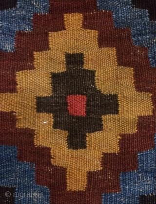 Rare Bahtiyar pillow kilim size 42x83cm