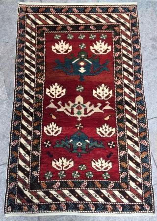 Caucasian shirvan carpet size 145x95cm