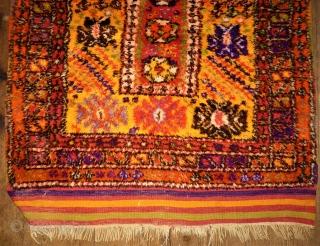 Small Yatak rug. Anatolia. Size: 99 x 132 cm. Full pile. Good condition.