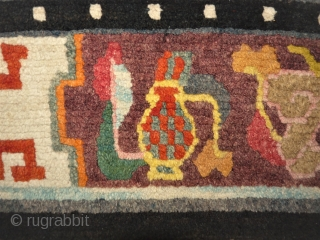 nice Tibet rug. Size: 91 x 178 cm. Perfect.