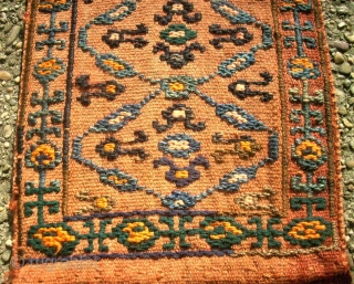 Shah-Savan small bag. Size: 26 x 96 cm. Very good condition.