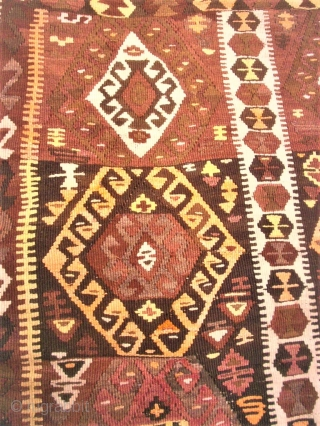Nice Kilim - Size: 122 x 176 cm. Some small repairs. I think it is from Eastern Anatolia.