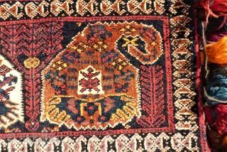 Wonderful Afshari bag. size: 53 x 31 cm. Perfect condition.
