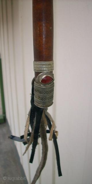 Turkoman wooden whip.