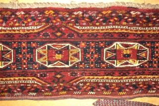 Ersari Torba - Afghanistan. Size: 35 x 156 cm. Good condition. Big torba.